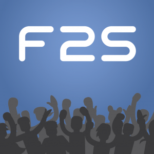 Fan2Stage F2S App Logo- are you passionate about your business